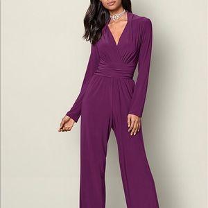 Venus purple pant suit small